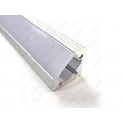 Aluminum Profile Corner Matt