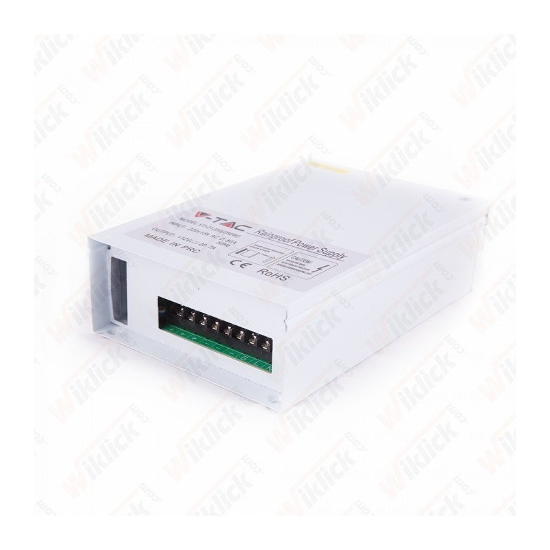 LED Power Supply - 60W 12V IP45 Metal Rainproof