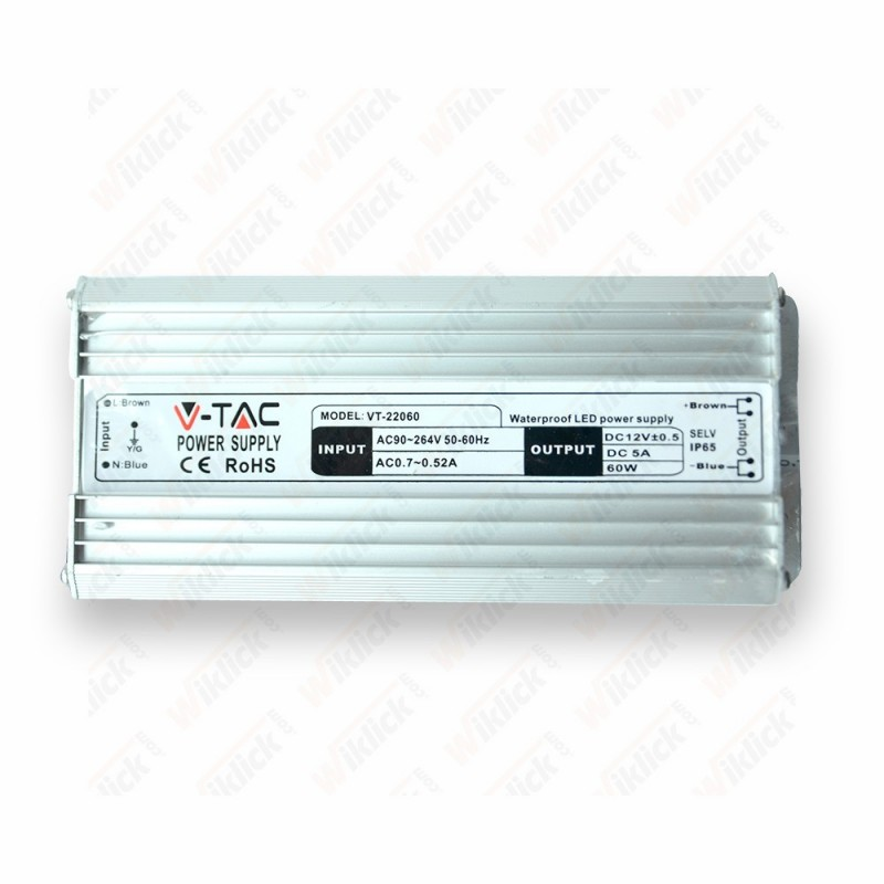 LED Power Supply - 30W 12V 2,5A Metal Waterproof