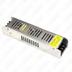 LED Power Supply - 120W 12V 10A IP20 SLIM Metal - NEW
