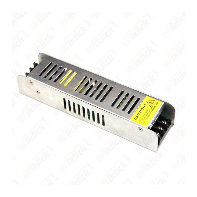 LED Power Supply - 120W 12V 10A IP20 SLIM Metal - NEW