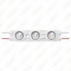 LED Module 1.5W 3LED SMD2835 Blue IP67 - NEW