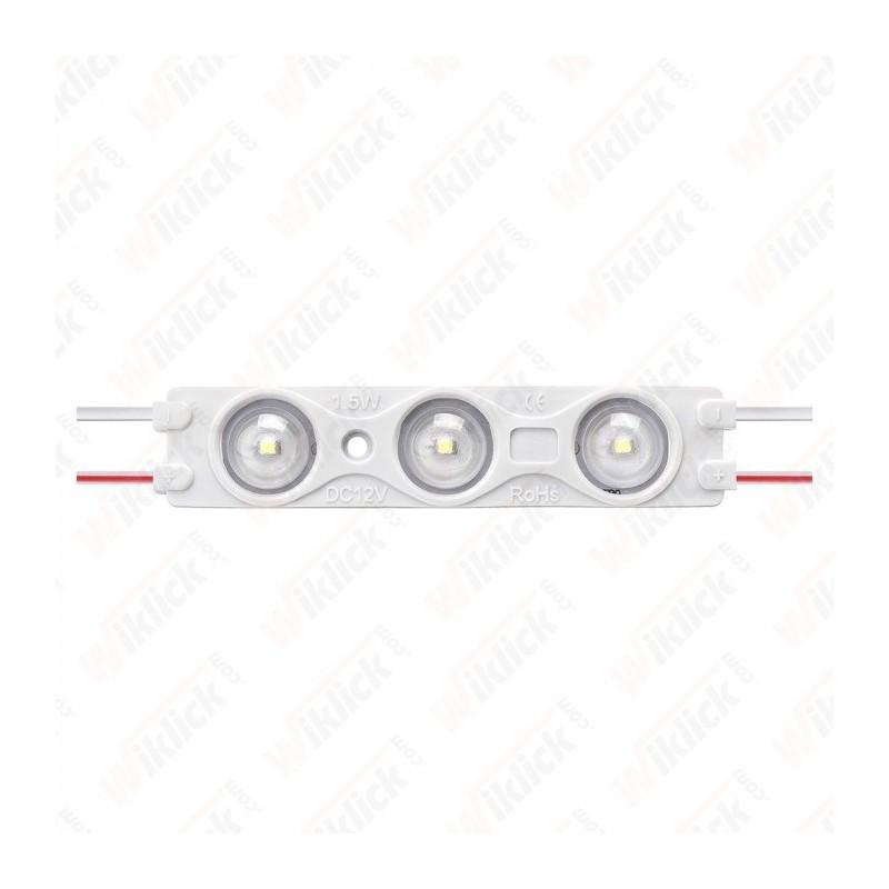 LED Module 1.5W 3LED SMD2835 Blue IP67 - NEW