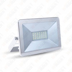 10W LED Floodlight I-Series White Body 3000K - NEW