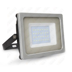 30W LED Floodlight Black/Grey Body SMD 3000K