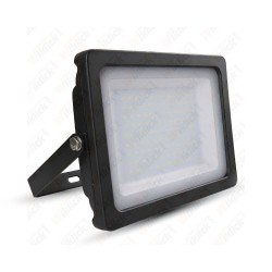 100W LED Floodlight Black Body SMD 3000K - NEW