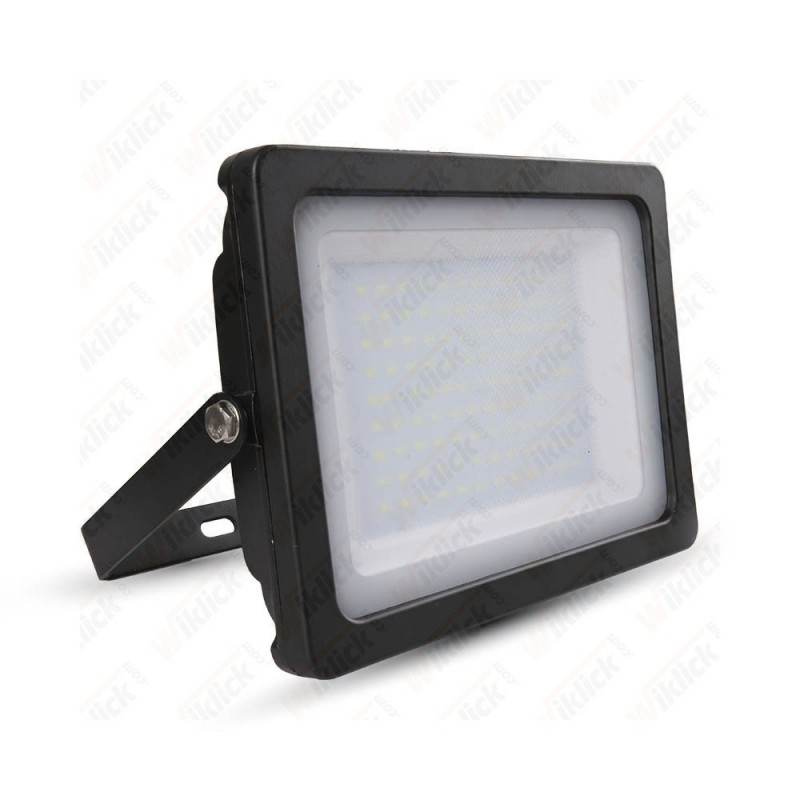 100W LED Floodlight Black Body SMD 3000K - NEW