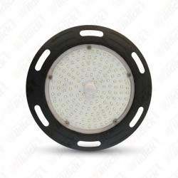 100W LED High Bay UFO A++ Meanwell  4500K 5 Year Warranty Black Body
