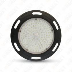 100W LED High Bay UFO A++ Meanwell  4500K 5 Year Warranty Black Body