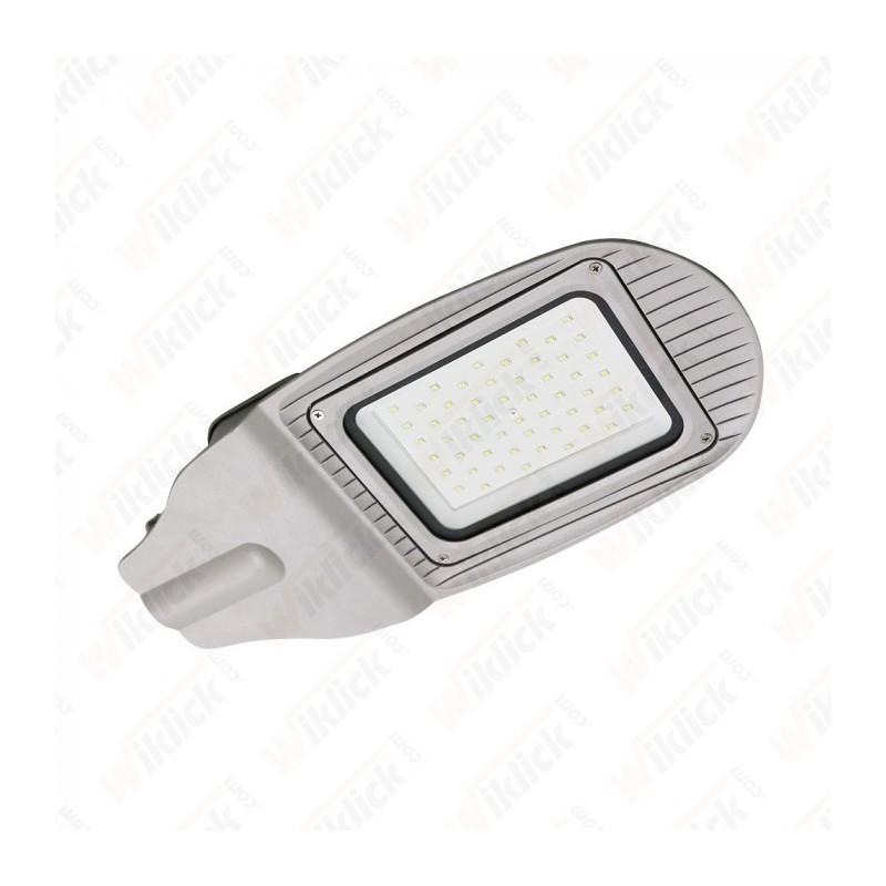 50W SMD Street Lamp Grey Body Grey Glass 4000K - NEW