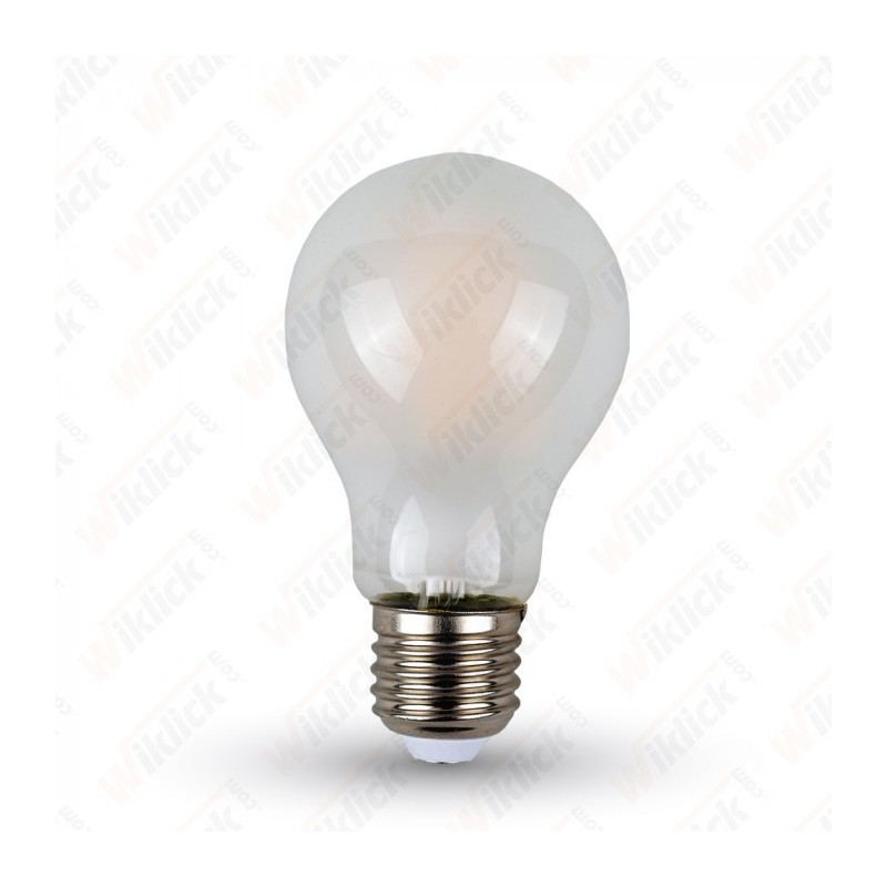 LED Bulb - 4W Filament E27 A60 Frost Cover 2700K - NEW