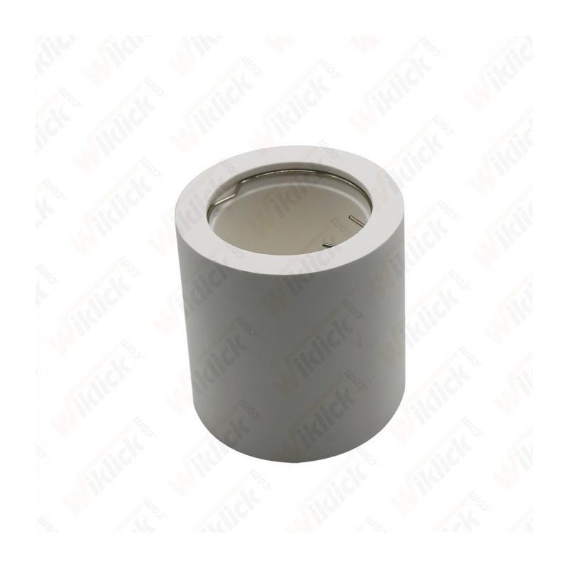 GU10 Fitting Round Gypsum White - NEW