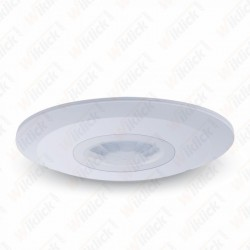 PIR Ceiling Sensor Flat White - NEW