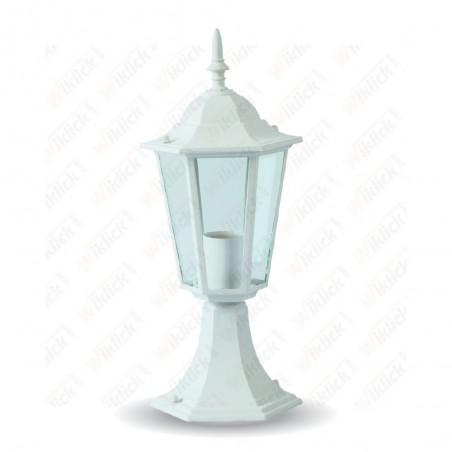 Stand Lamp 30cm Matt White - NEW