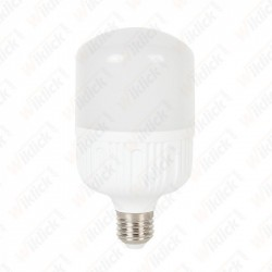 LED Bulb 24W E27 T120 Big Ripple Plastic 3000K
