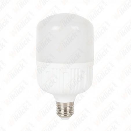 LED Bulb 24W E27 T120 Big Ripple Plastic 4000K