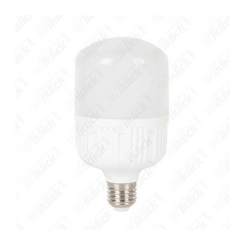 LED Bulb 24W E27 T120 Big Ripple Plastic 6400K