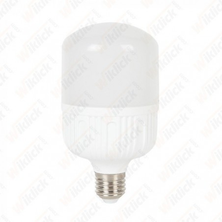 LED Bulb 24W E27 T120 Big Ripple Plastic 6400K