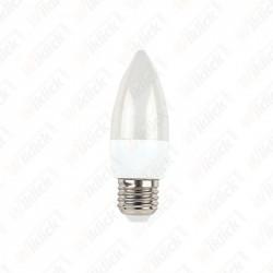 LED Bulb - 5.5W E27 Candle 2700K