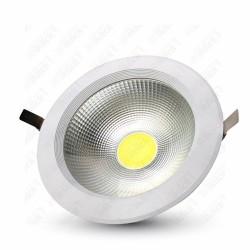 20W LED COB Downlight Round A++ 120Lm/W 2000K