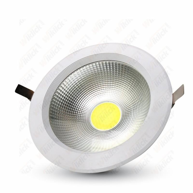 40W LED COB Downlight - 6000K