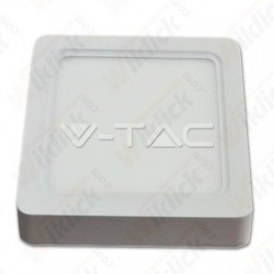 15W LED Surface Panel Downlight - Square 6000K