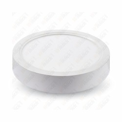 8W LED Surface Panel Downlight - Round 6000K