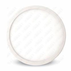 12W LED Surface Panel Downlight Premium - Round 6000K