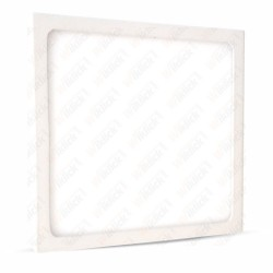 12W LED Surface Panel Downlight Premium - Square 6000K