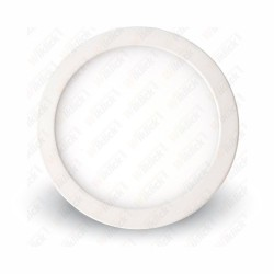 6W LED Surface Panel Downlight Premium - Round 4500K