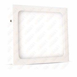 6W LED Surface Panel Downlight Premium - Square 3000K