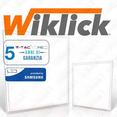LED Panel 45W 600 x 600 mm 3000K Incl Driver 5 anni Garanzia (Minimo 6 PEZZI)