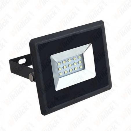 10W LED Floodlight SMD E-Series Black Body 4000K