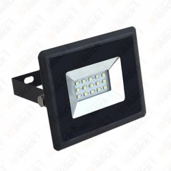 10W LED Floodlight SMD E-Series Black Body 6500K