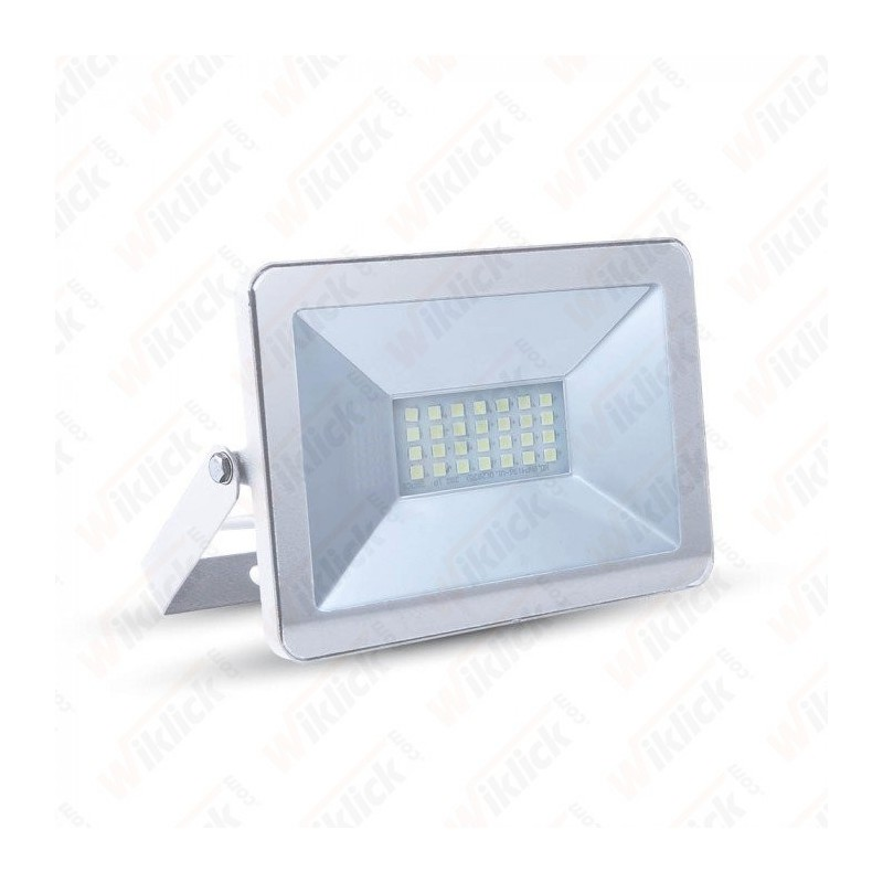 10W LED Floodlight I-Series White Body 4500K