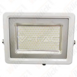 100W LED Floodlight White Body SMD 4500K