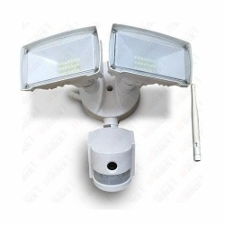 18W LED Floodlight With WIFI Sensor Camera White 6000K