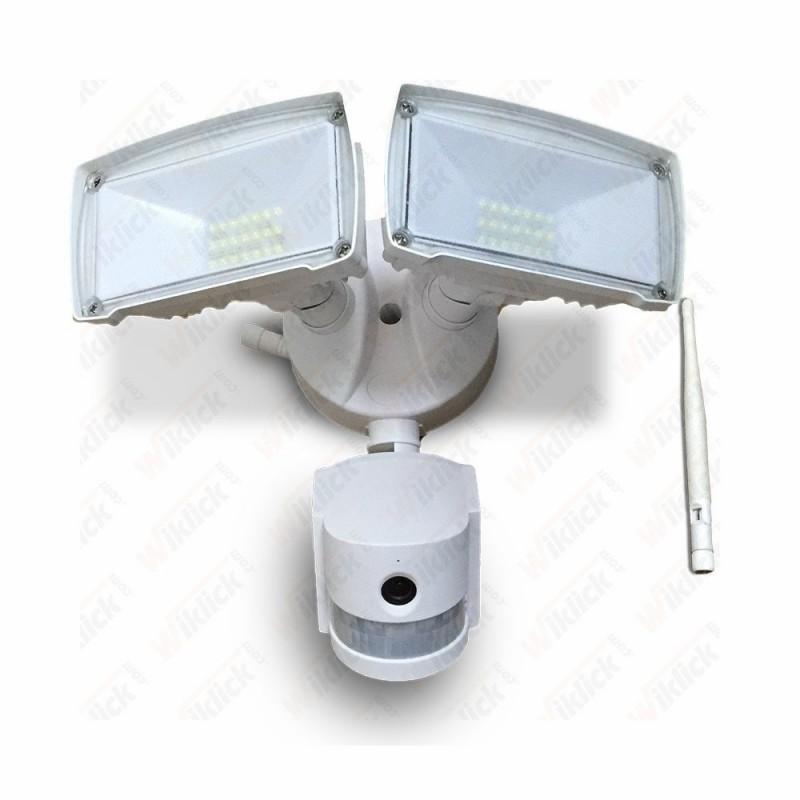18W LED Floodlight With WIFI Sensor Camera White 6000K