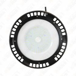 100W LED High Bay UFO A++ Meanwell 4000K 5 Year Warranty 120°
