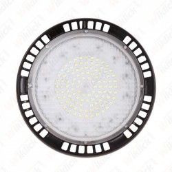 100W LED High Bay UFO A++ Meanwell 6400K 5 Year Warranty 120°