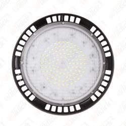 100W LED High Bay UFO A++ Meanwell 6400K 5 Year Warranty 120°