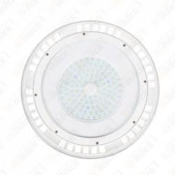 100W LED SMD High Bay UFO White Body 3000K 120°