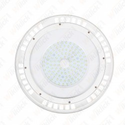 100W LED SMD High Bay UFO White Body 6400K 120°