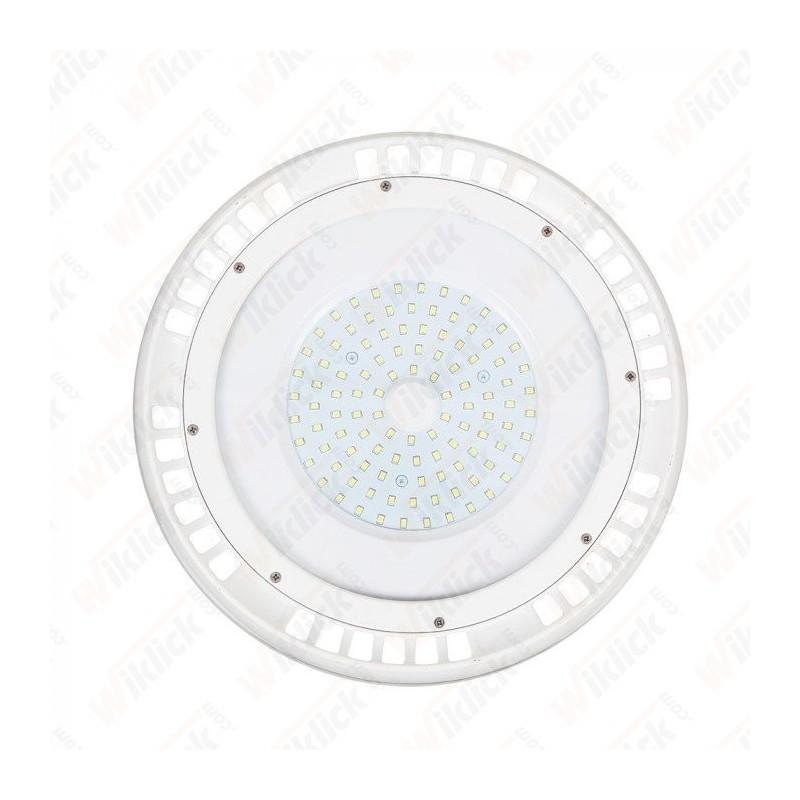 100W LED SMD High Bay UFO White Body 6400K 120°