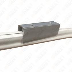 1 Meter Plastic Profile With Screws For Neon Flex