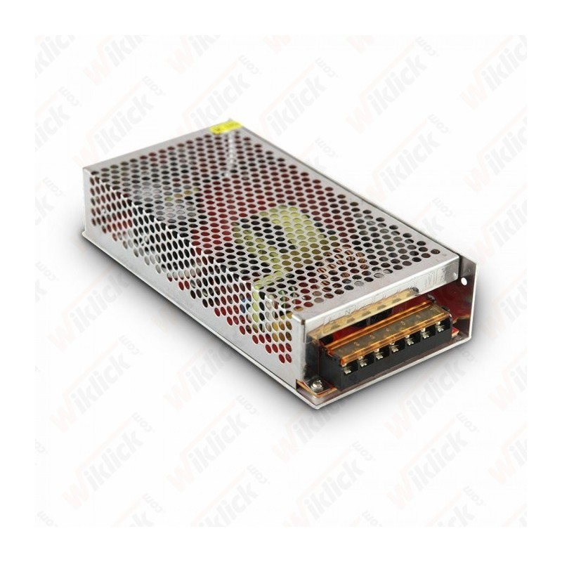 LED Power Supply - 350W 12V 20A Metal IP20