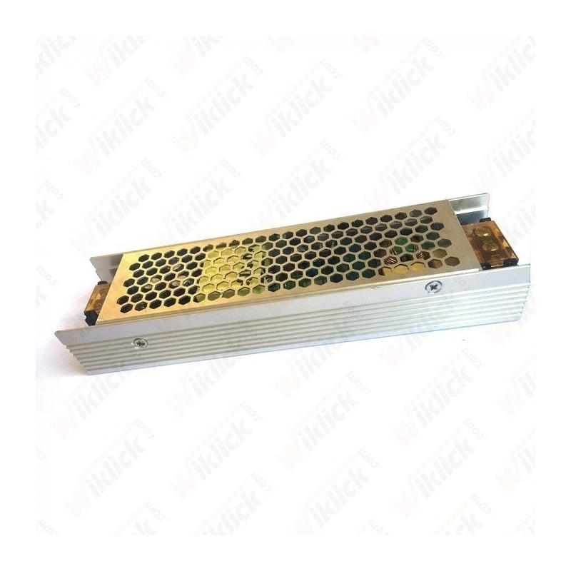 LED Slim Power Supply - 120W 12V 10A Metal