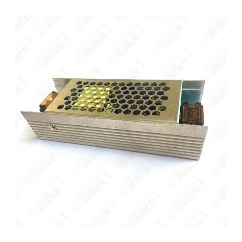LED Slim Power Supply - 75W 12V 6A Metal