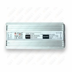 LED Power Supply - 45W 12V 3,75A Metal Waterproof IP65