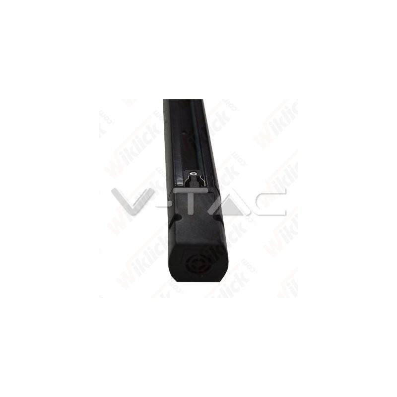 1 Meter Black 4 Core Track
